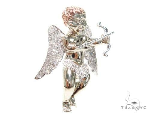 Angel Diamond Pendant 41196 Metal