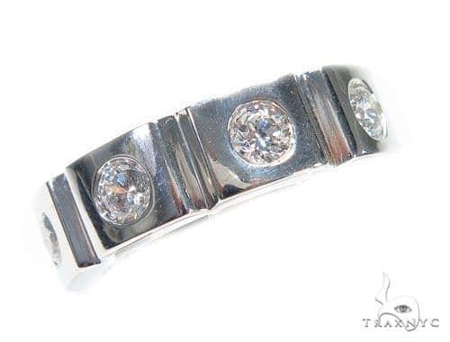 Bezel Diamond Ring 41211 Stone
