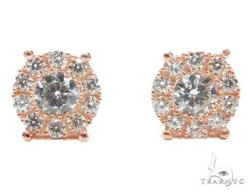 Sterling Silver Earrings 41272 Metal