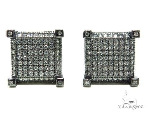 Sterling Silver Earrings 41282 Metal