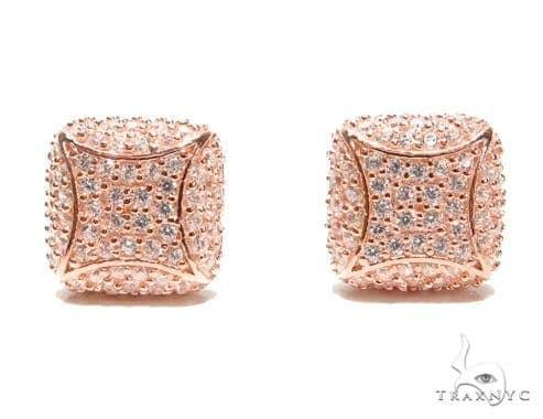 Sterling Silver Earrings 41292 Metal