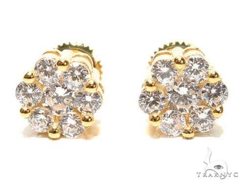 Sterling Silver Earrings 41310 Metal