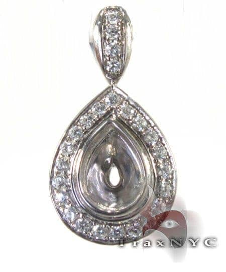 Tear Drop Pendant Stone