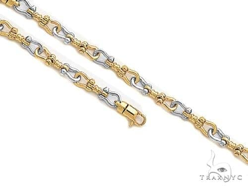 14K Gold Chain 30 inches 7.6mm 105.8 Grams 41376 Gold