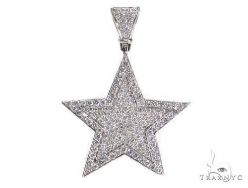 Star Diamond Pendant 41419 Metal