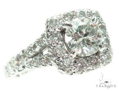 Prong Diamond Engagement Ring 41455 Engagement
