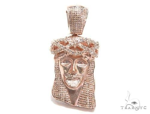 Prong Diamond Jesus Piece 41604 Style