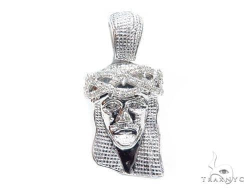 Prong Diamond Jesus Piece 41606 Style