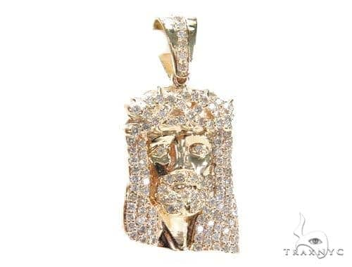 Prong Diamond Jesus Piece 41655 Style