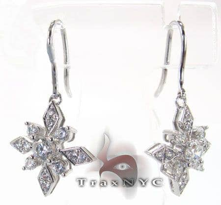 Prism Earrings 2 Stone