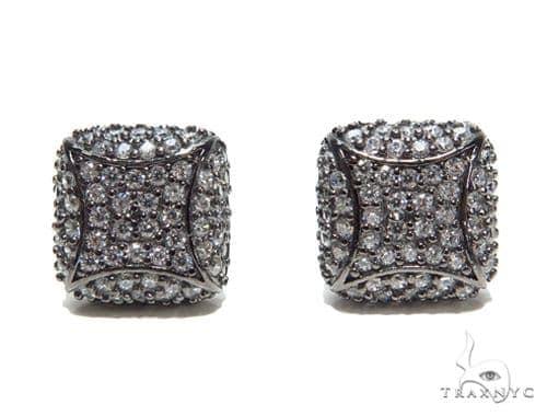 Sterling Silver Earrings 41293 Metal