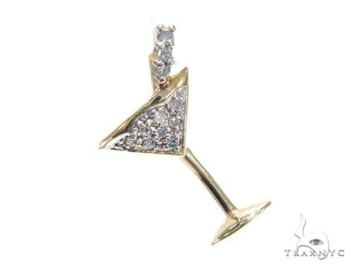 Prong Diamond Pendant 41790 Stone