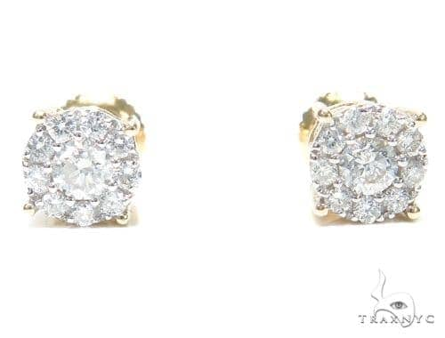 Prong Diamond Stud Earrings 41868 Style