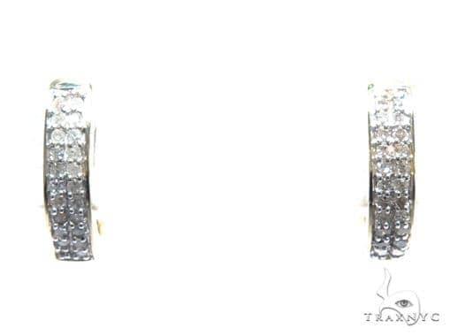 Diamond Hoop Earrings 41862 Style