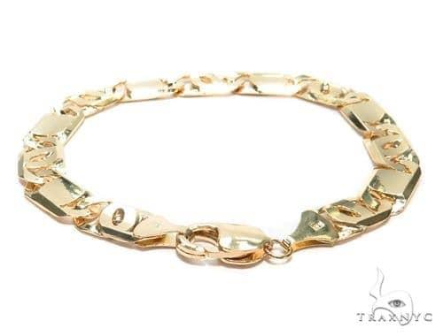 Tiger Eye Gold Bracelet 41928 Gold