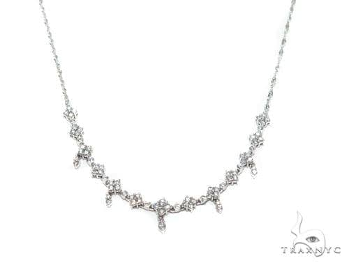 Prong Diamond Necklace 42019 Diamond