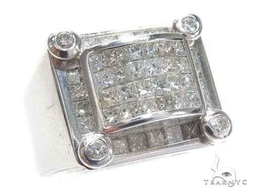 Invisible Diamond Ring 42034 Stone