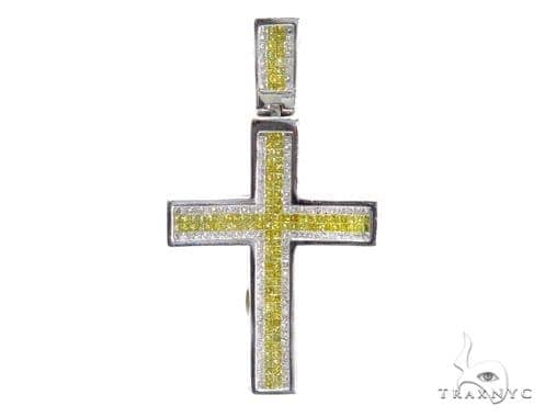 Invisible Diamond Cross Crucifix 42078 Diamond