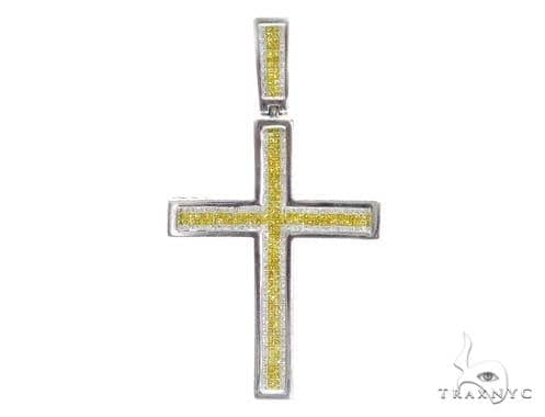 Invisible Diamond Cross Crucifix 42076 Diamond