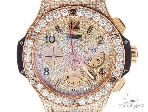 Pave Diamond Hublot Watch 42351 Hublot