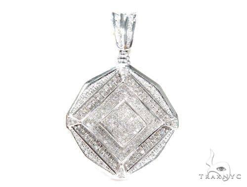 Prong Diamond Pendant 42368 Stone