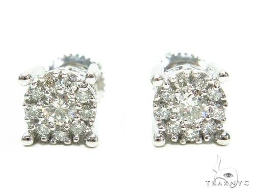Prong Diamond Stud Earrings 42446 Style