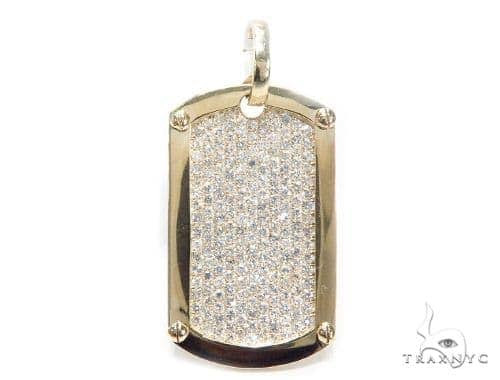 Prong Diamond Dog Tag 42493 Style