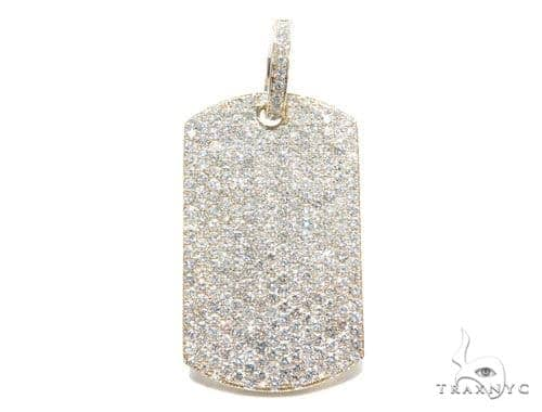 Prong Diamond Dog Tag 42494 Style
