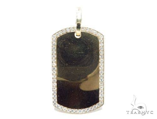 Prong Diamond Dog Tag 42503 Style