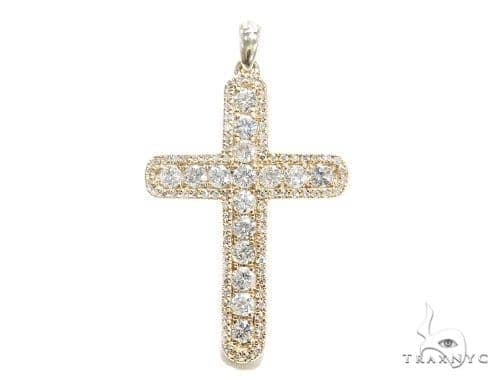 Prong Diamond Cross 42495 Diamond