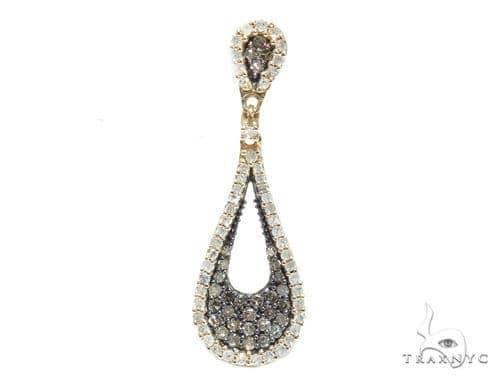 Teardrop Diamond Pendant 42590 Stone