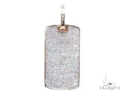 Invisible Diamond Dog Tag 42594 Style