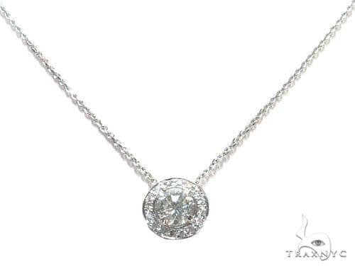 Prong Diamond Necklace 42639 Diamond