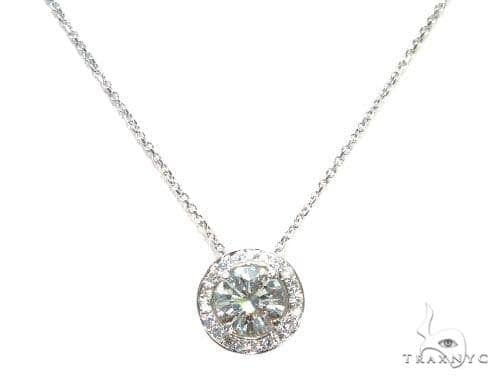 Prong Diamond Necklace 42638 Diamond