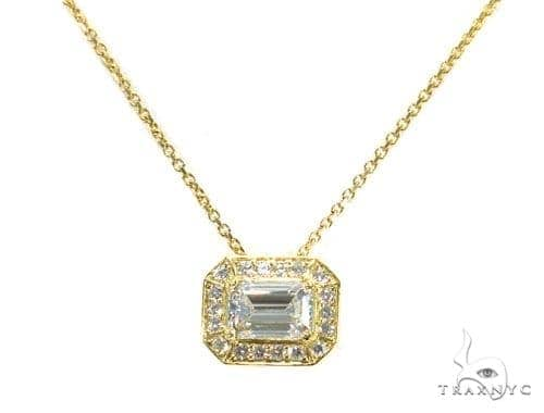 Prong Diamond Necklace 42637 Diamond