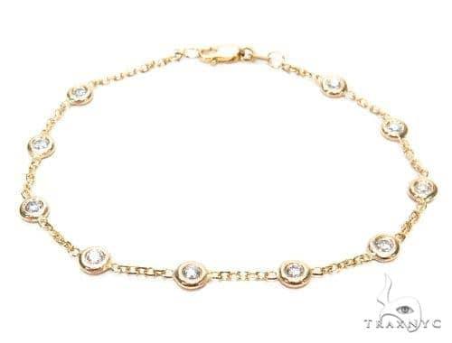 Bezel Diamond Bracelet 42633 Diamond