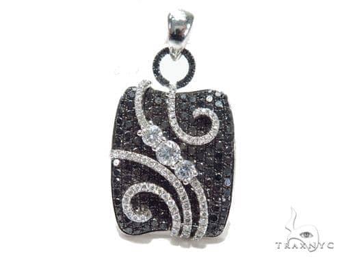 Prong Diamond Pendant 42619 Stone
