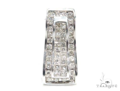 Invisible Diamond Pendant 42623 Stone