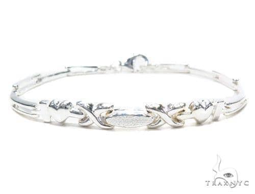 Heart Silver Bracelet 42670 Silver & Stainless Steel