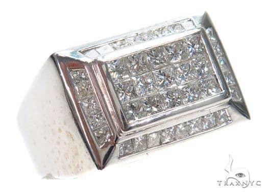 Invisible Diamond Ring 42710 Stone