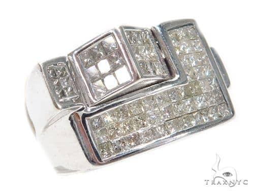 Invisible Diamond Ring 42734 Stone