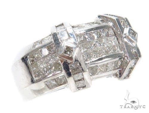 Invisible Diamond Ring 42739 Stone