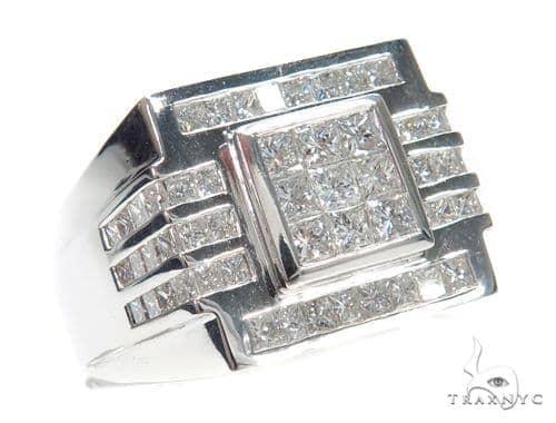 Invisible Diamond Ring 42752 Stone