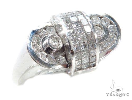 Invisible Diamond Ring 42745 Stone
