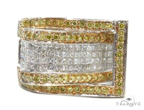 Prong Colored Diamond Ring 42767 Stone