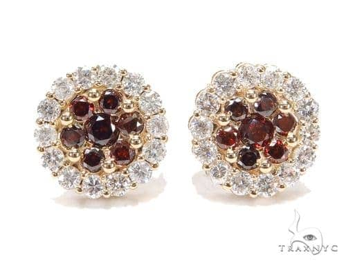 Vermilion Center Earrings Stone