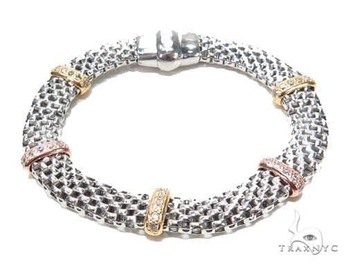 Silver Bracelet 42996 Silver & Stainless Steel