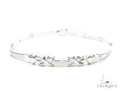Silver Bracelet 43006 Silver & Stainless Steel