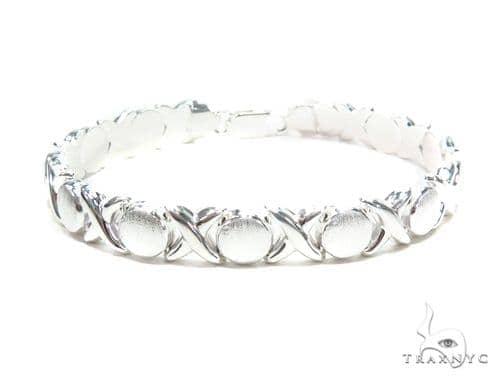 Silver Bracelet 43013 Silver & Stainless Steel