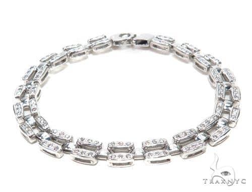 Silver Bracelet 43014 Silver & Stainless Steel